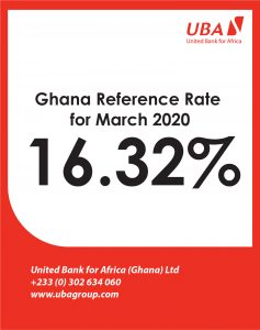 MARCH 2020-REFERENCE RATE