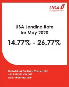 MAY 2020- Lending rate