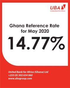 MAY 2020- Reference rate