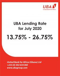 July 2020- LENDING RATE
