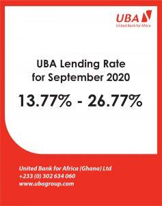 September lending rate 2020